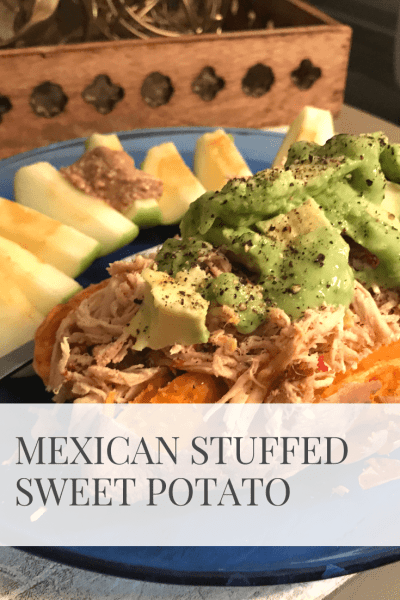 Mexican Stuffed Sweet Potatoes | Sarah Wyland