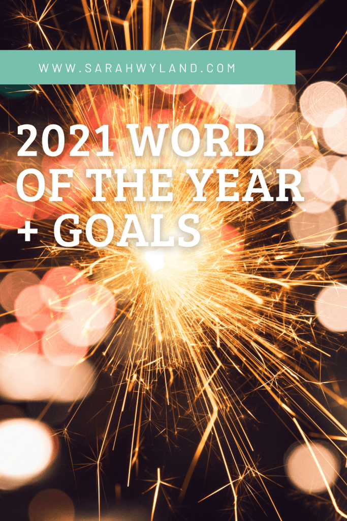 2021 Word of the Year + Goals