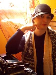 Sarah Zama - Italian dieselpunk author of stories set in the 1920s