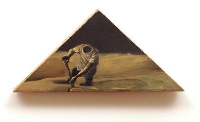 headless man digging a hole