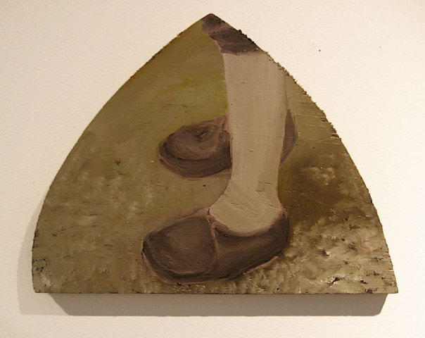 painting of feet