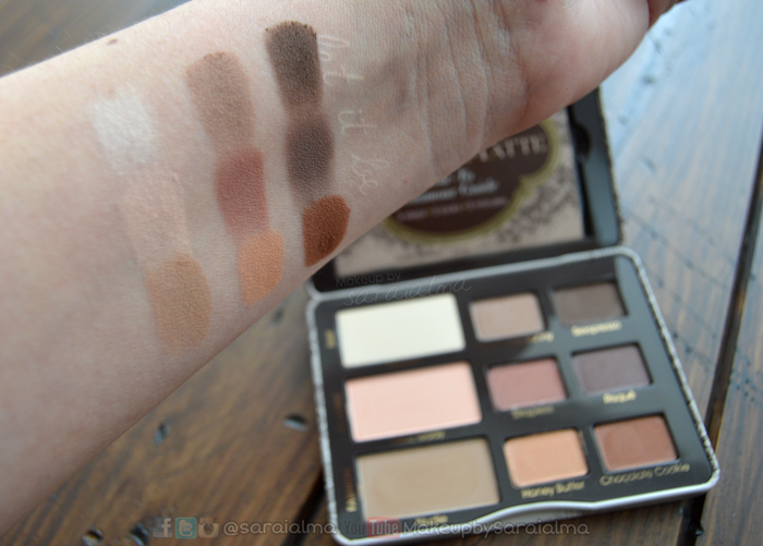 Paleta-Natural-Matte-Too-Faced-Makeup
