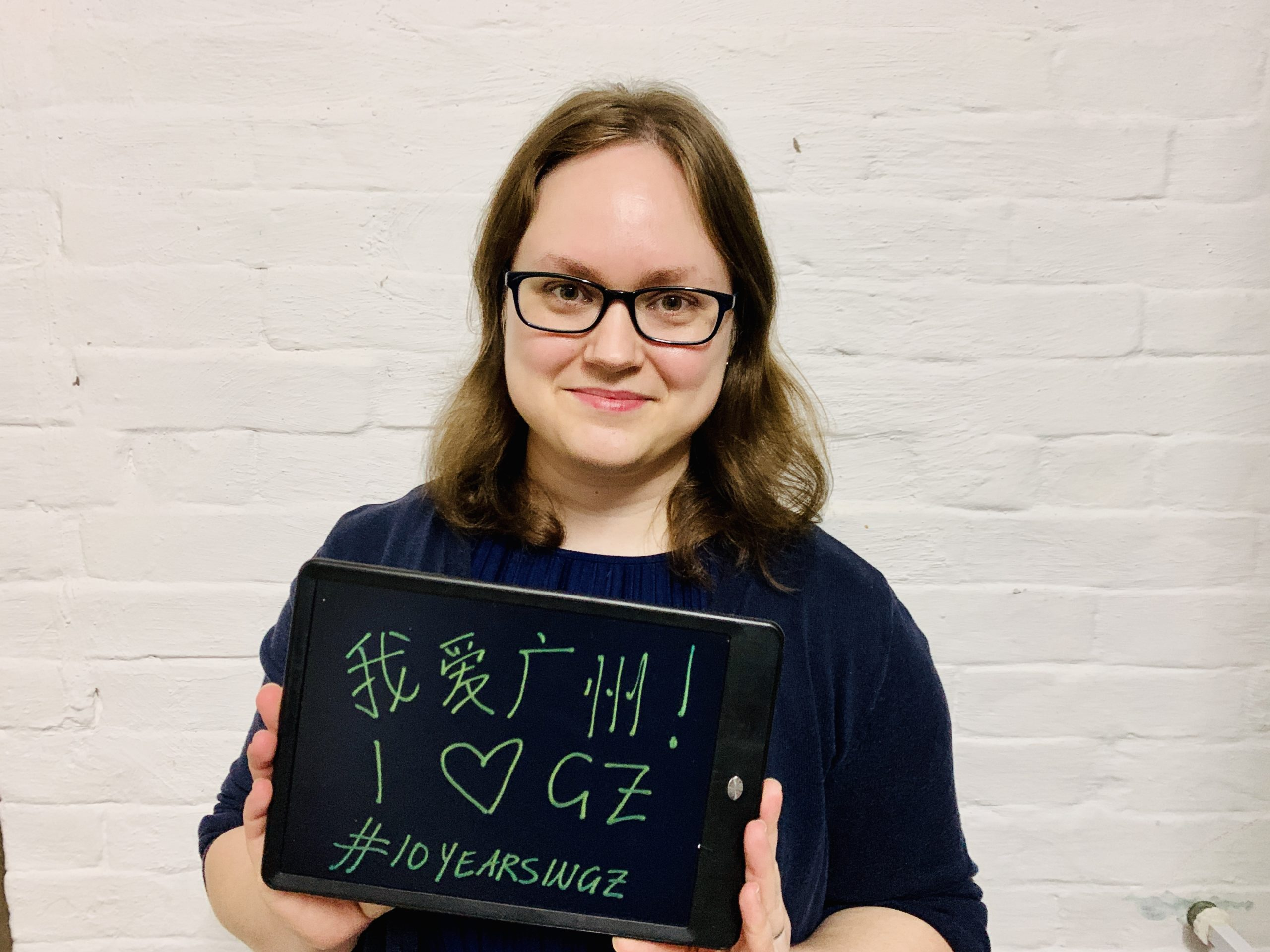 In times like these, we need to spread some love! 80+ residents saying I Love Guangzhou