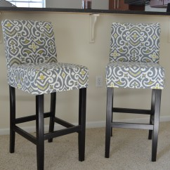 Counter Height Chair Covers Big Man Recliner Bar Stool Slipcovers  How To Post And Script