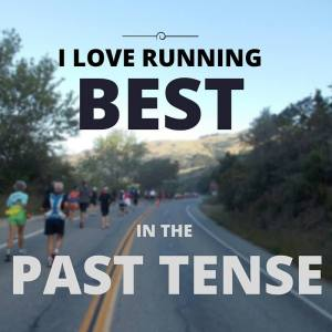 running motivation past tense