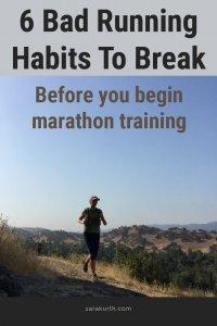 Bad Running Habits To Break