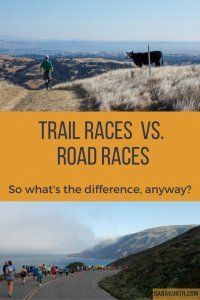 Trail Races v. Road Races