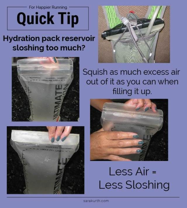 Hydration Pack Quick Tip