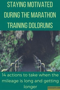 Marathon Training Motivation
