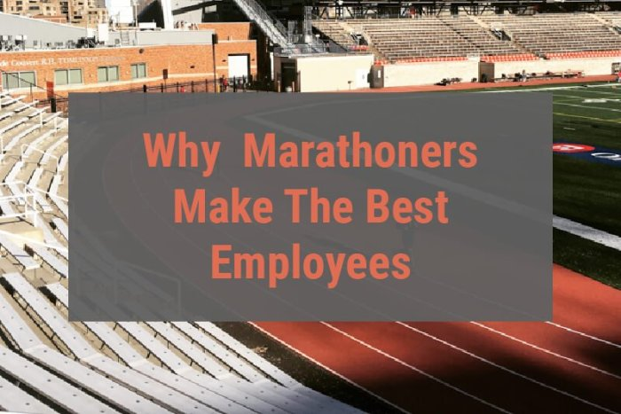 Marathoners make good employees