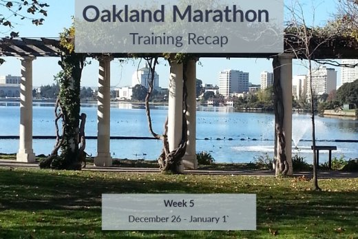 Oakland Marathon Training recap five