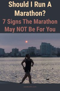 Marathon NOT for you