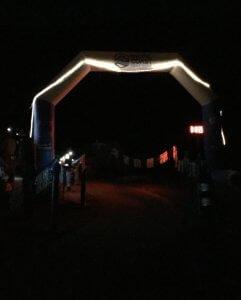 Night Sweats Marathon  Finish