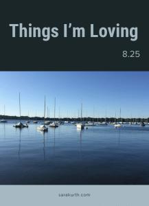 Things I Love 8 25