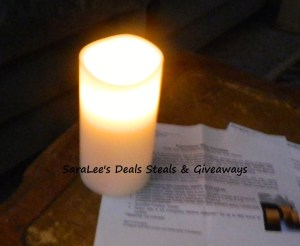 Energizer Flameless Wax Candle Review