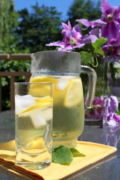 TEAS' TEA half&HALF green tea with a splash of fruit