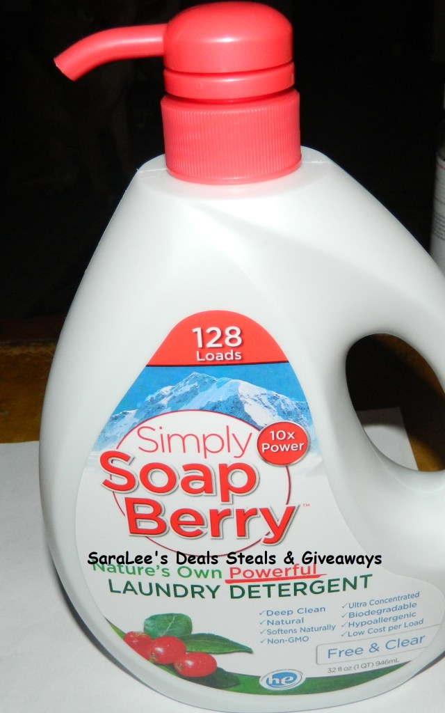 Simply Soap Berry Laundry Detergent