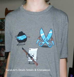 Angry Rock Paper Scissors T-shirt