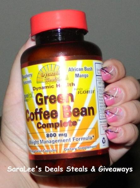 Dynamic Health Green Coffee Bean Capsules