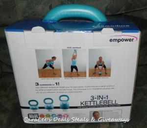Empower 3-in-1 Kettlebell
