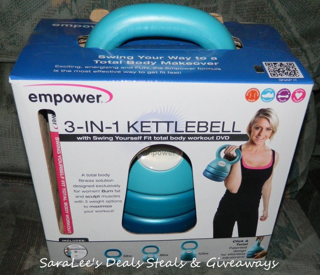 Empower 3-in-1 Adjustable Kettlebell