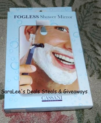 Cassani Fogless Shower Mirror