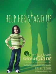 "Green Giant's ""Raise A Giant"" Anti-Bullying Campaign & $25 Visa GC Giveaway 11/22 Daily US #MyBlogSpark (1/3)"