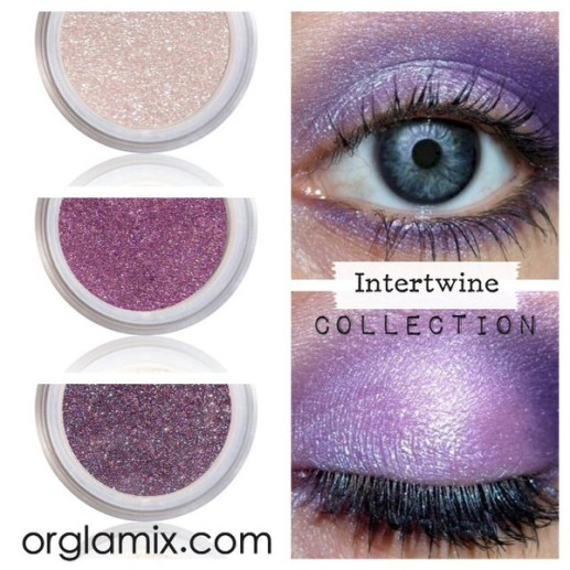 Orglamix Natural Mineral Makeup  eyeshadows