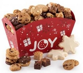 Mrs. Fields: Joy Presents Tray Giveaway 12/23 Daily US (1/3)