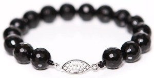 Faceted Onyx Bracelet