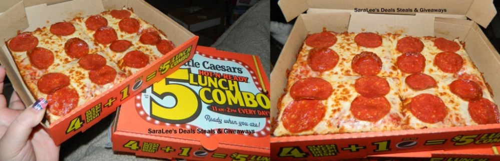Little Caesars $5 HOT-N-READY Lunch Combo (2/4)