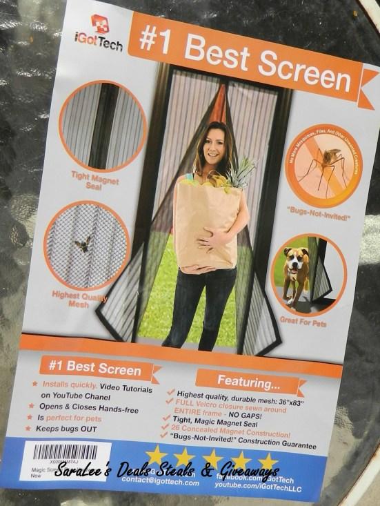 Magnetic Screen Door