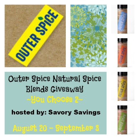 Outer-Spice-Natural-Spice-Blends-Giveaway-August-20-September-3