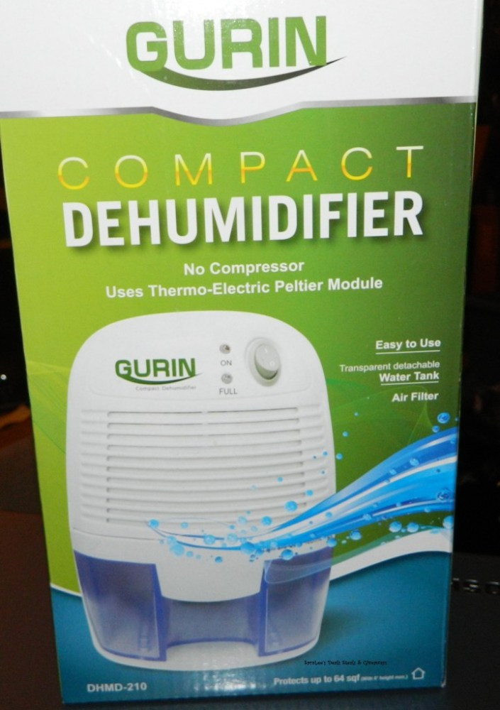 Gurin Electric Compact Dehumidifier (1/3)