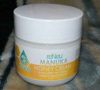 reNeu Manuka Honey Cream Healing Moisturizer Skin Care