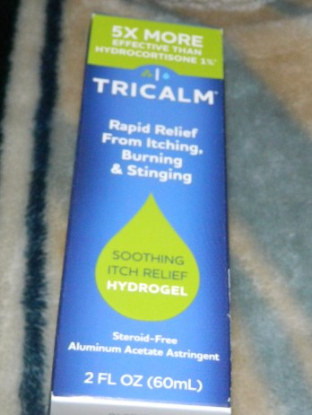 TriCalm Steroid-Free Anti-Itch Hydrogel 2oz