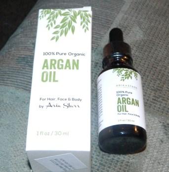Aria Starr Beauty: Organic Argan Oil 1oz