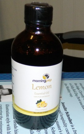 Morning Pep Lemon Oil 4oz