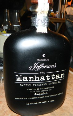 The Manhattan: Barrel Finished Cocktail