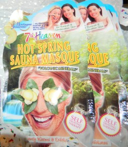 Hot Spring Sauna Masque