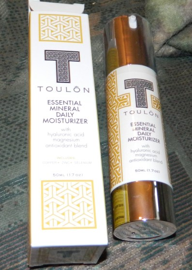 TOULON: Daily Face Moisturizer with Hyaluronic Acid, Magnesium & Antioxidants 1.7oz