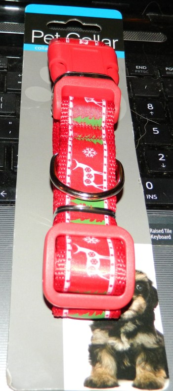 Christmas Dog Collar for Medium/large Dog By Pet's Mum