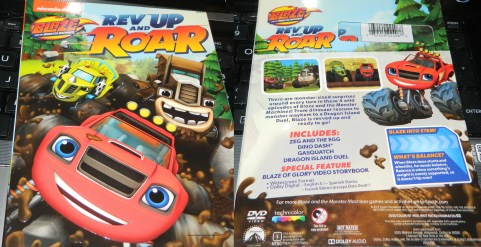 Blaze & The Monster Machines: Rev Up & Roar