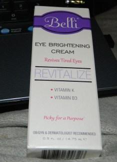 Belli Eye Brightening Cream .5 oz