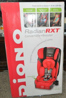 Diono RadianRXT Convertible Car Seat, Daytona