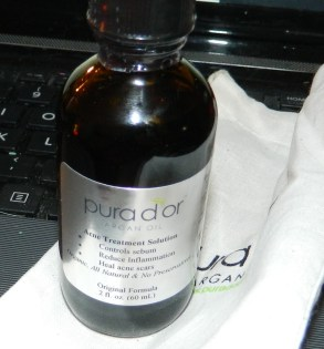 Pura d'or Organic Acne Treatment Solution 2oz