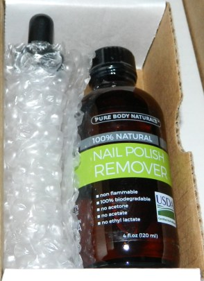 Pure Body Naturals Nail Polish Remover