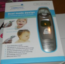 Upgraded Innovo Forehead and Ear Thermometer (Dual Mode)
