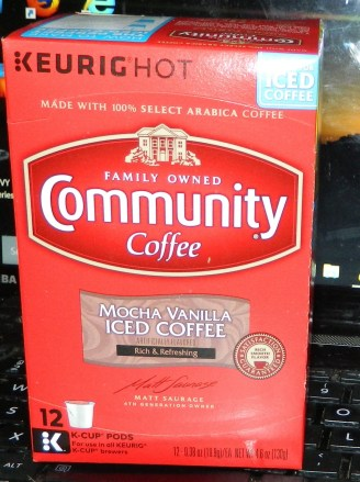 Community Mocha Vanilla Iced Coffee K-Cups, Pack of 12