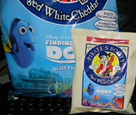 Pirate's Booty Aged White Cheddar, 0.5 Ounce (Pack of 12) Featuring Finding Dory